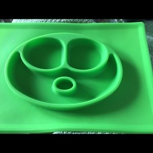 Other - Silicone food bowl and mat